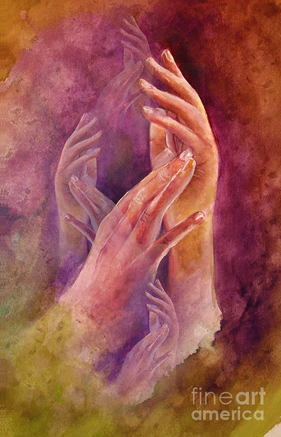 Hands Painting