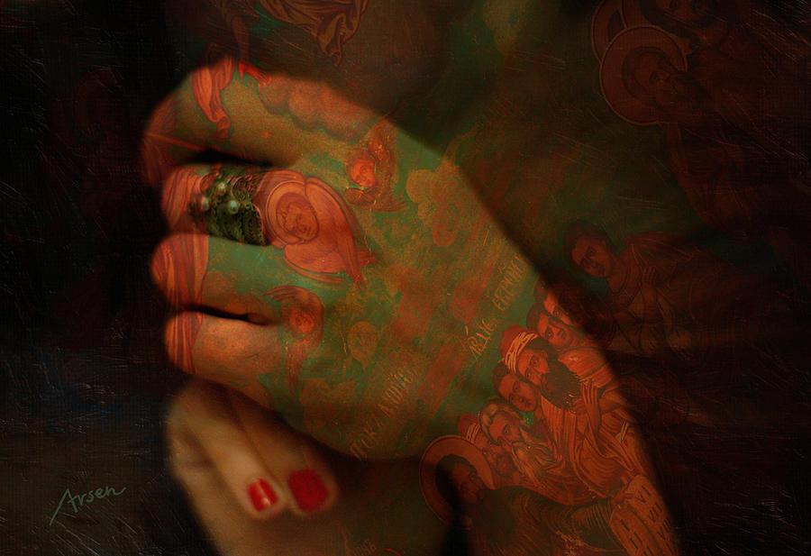 Hands Photograph - Hands by Arsen Arsovski