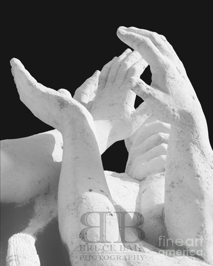Hands Photograph - Hands by Bruce Bain