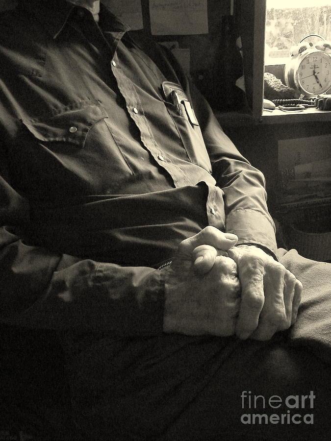 Hands Photograph - Hands Of Time by Joe Jake Pratt