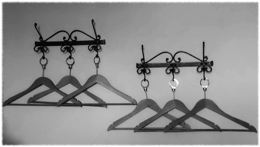 Fashion Photograph - Hangers by Dany Lison