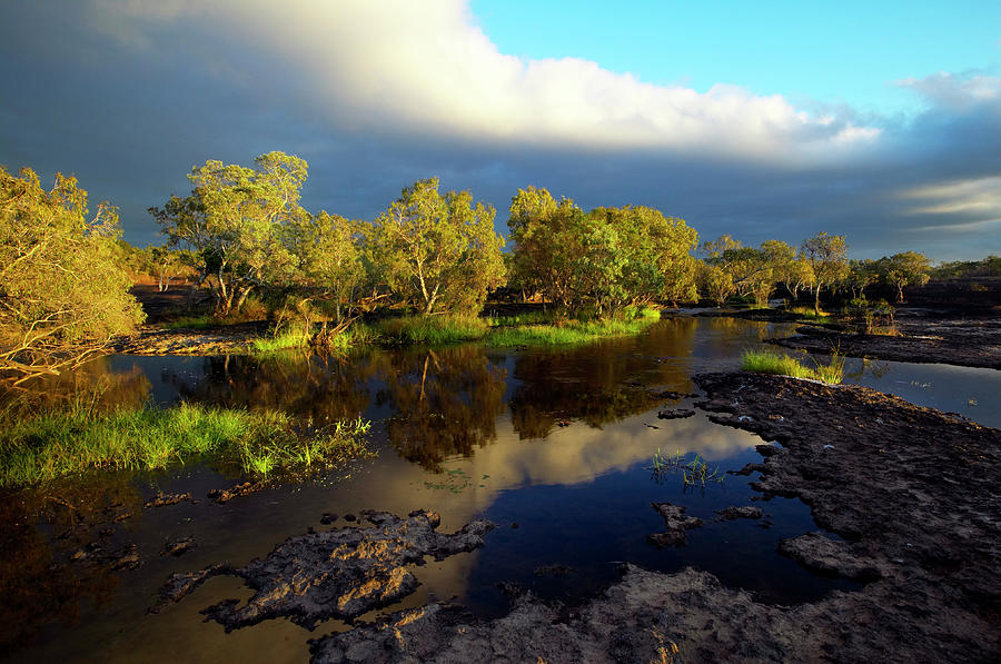 Outdoors Photograph - Hann Crossing, North Kennedy River by Johnny Haglund