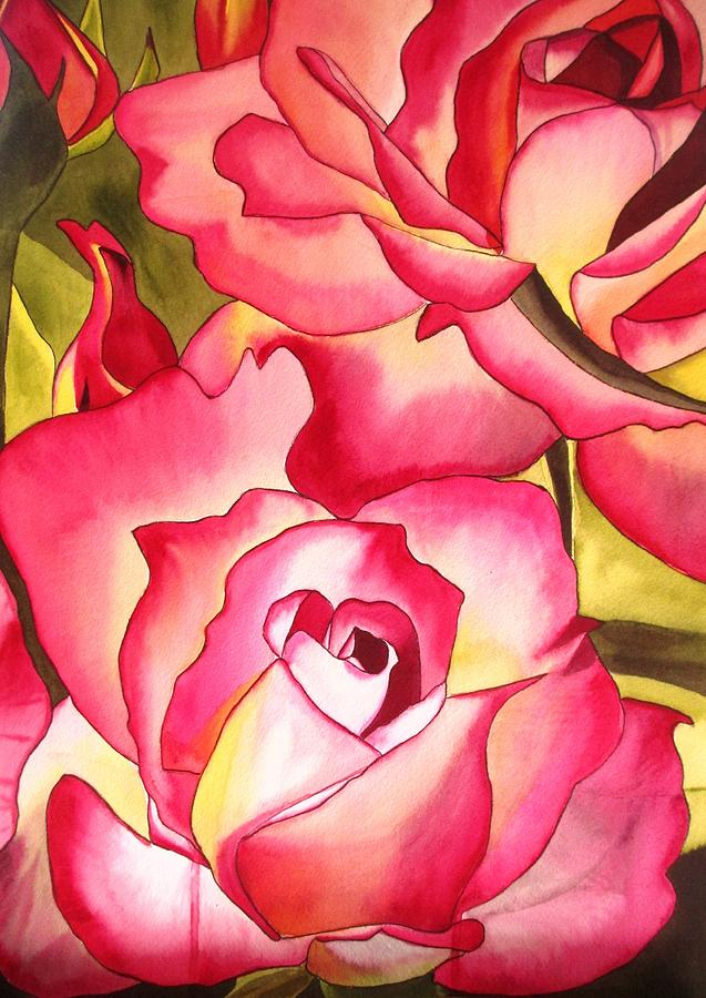 Rose Painting - Hannah Gordon Rose by Sacha Grossel