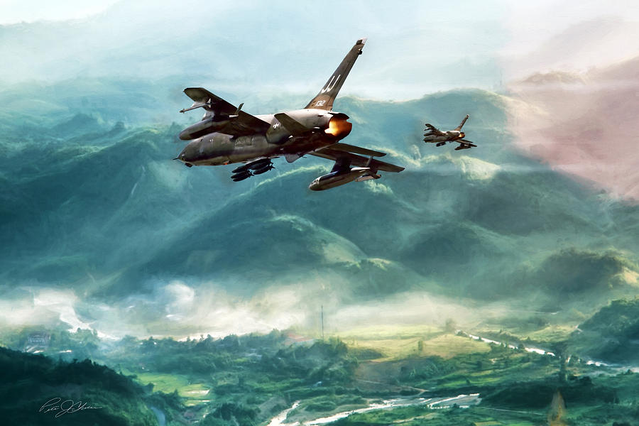 Aviation Digital Art - Hanoi Special by Peter Chilelli