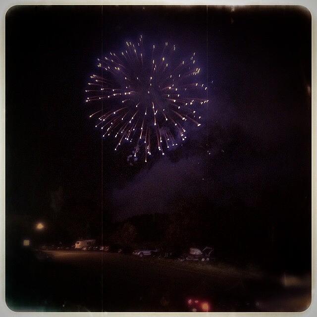 Fireworks Photograph - Happiness by Angela Davis