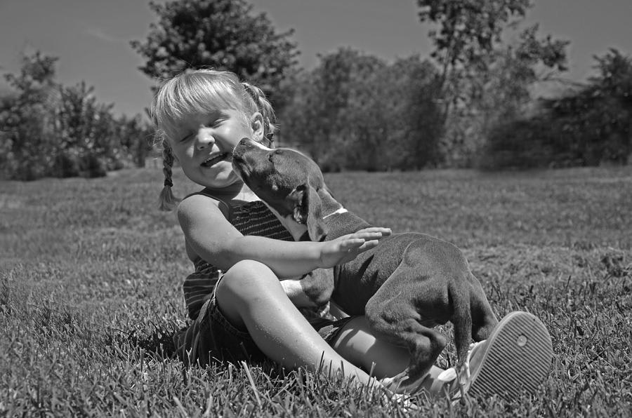 Portrait Photograph - Happiness Is.... by Eric Albright