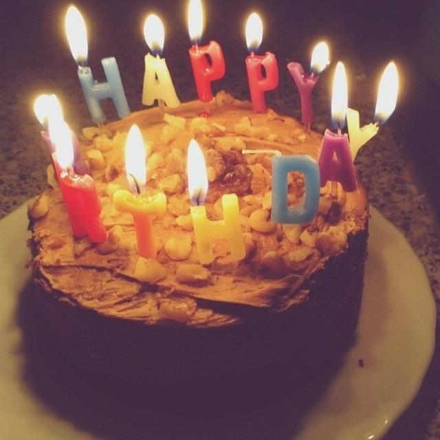 Happy Birthday Grandpa Birthday Cake Photograph By Natalie P