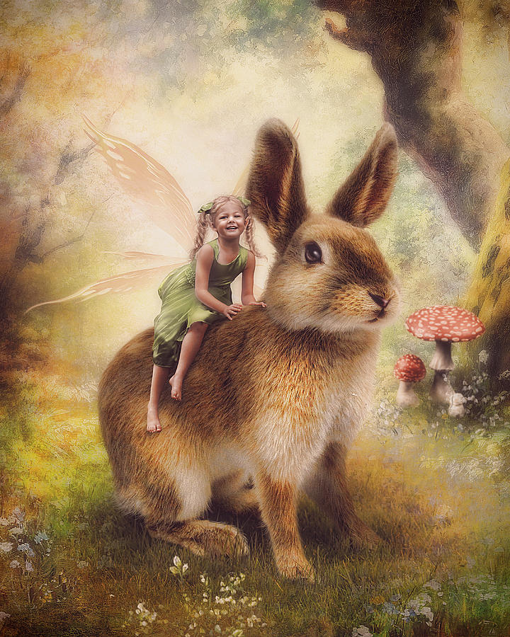 Easter Photograph - Happy Easter by Cindy Grundsten