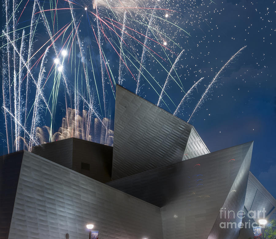 Architectural Detail Photograph - Happy Fourth by Juli Scalzi