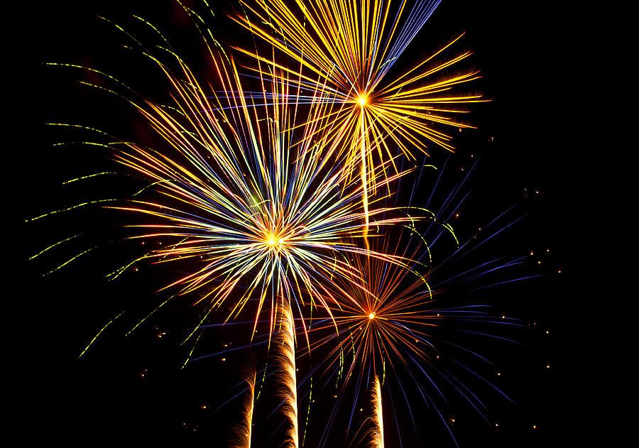 July 4th Photograph - Happy Fourth Of July   by Saija  Lehtonen