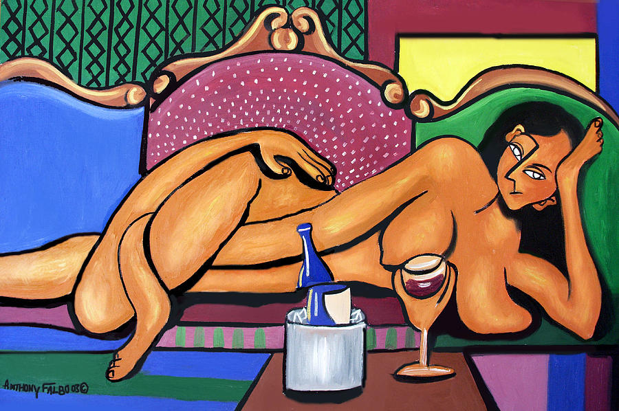 Happy Hour Painting - Happy Hour by Anthony Falbo