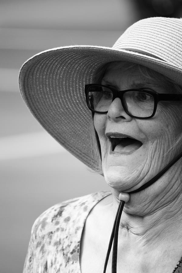 Pride Festival Photograph - Happy Lady by The Artist Project