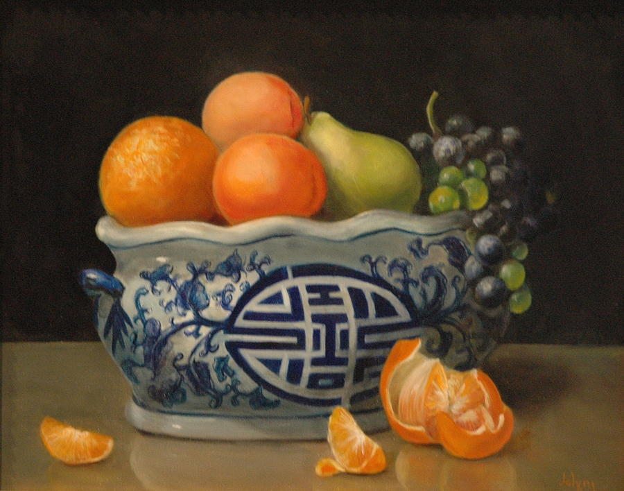 Still Life Painting - Happy Life by Jolyn Kuhn