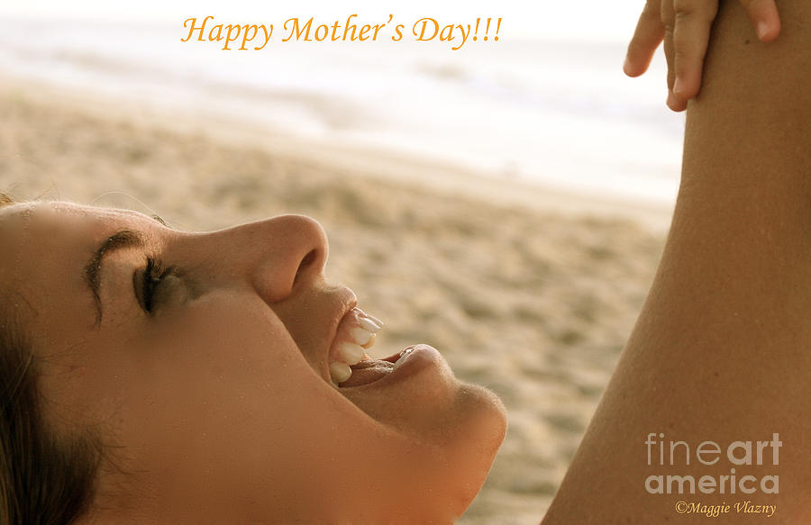 Mother's Day Photograph - Happy Mothers Day Card by Femina Photo Art By Maggie