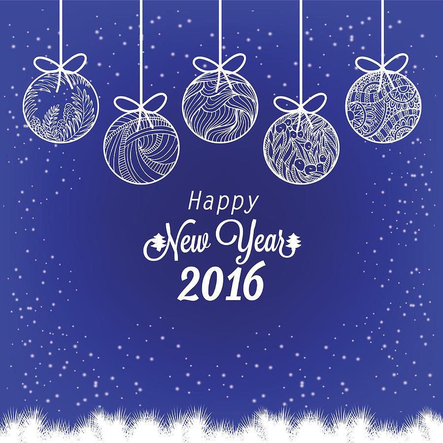 Happy New Year Invitation Card 29