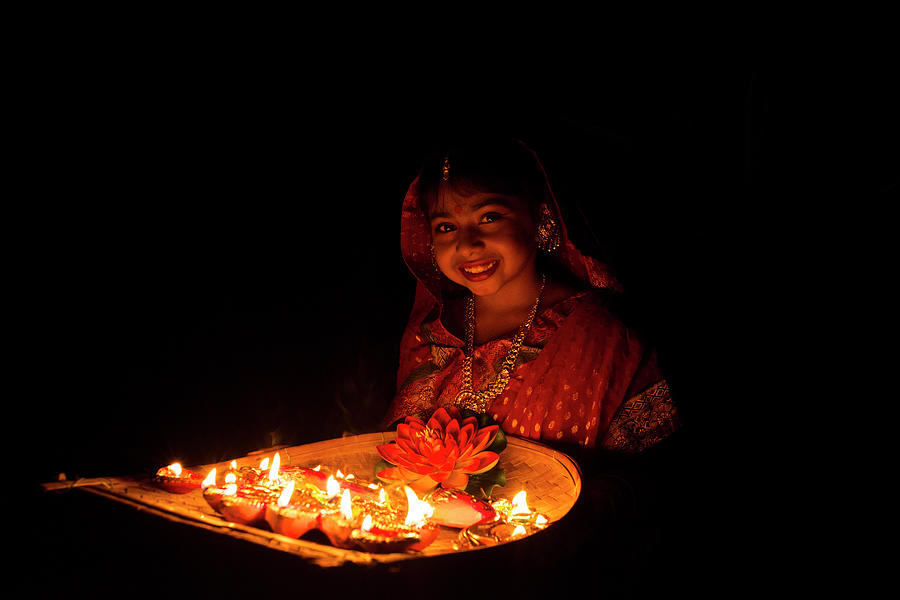 Happy On Diwali Photograph by India Photography