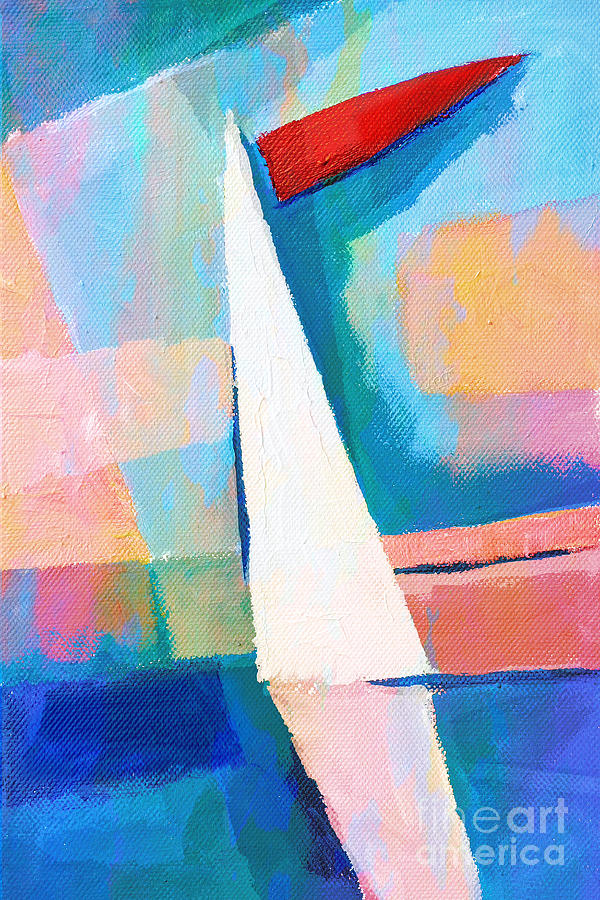 Navigare Painting - Happy Sailing by Lutz Baar