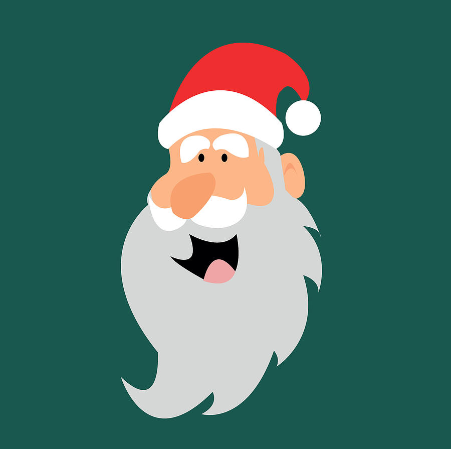 Santa Claus Digital Art - Happy Santa by Kenneth Feliciano