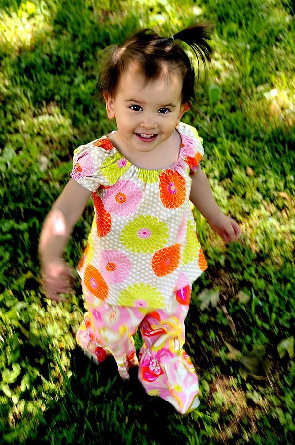 Child Photograph - Happy Smiles Fine Art Print by Jon Van Gilder