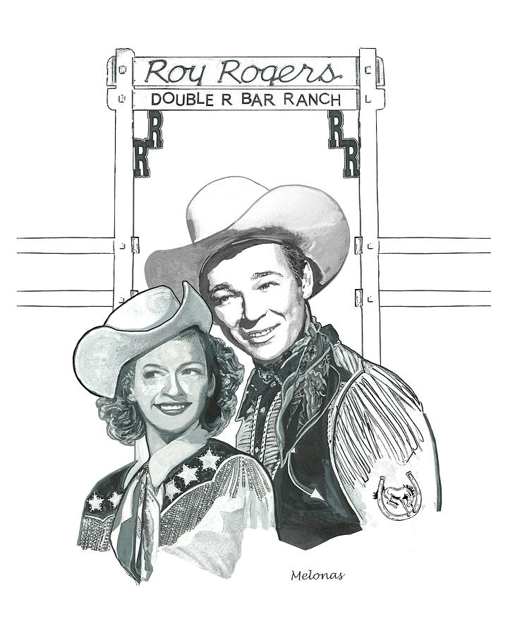 Roy Rogers Painting - Happy Trails by Peter Melonas