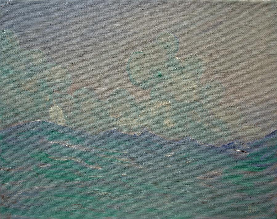 Joseph Hawkins Painting - Happy Wanderer 8 by Joseph Hawkins