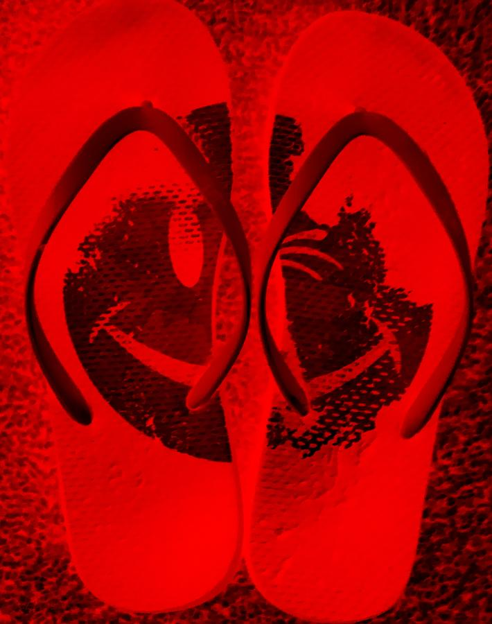 Happyflops Red Photograph