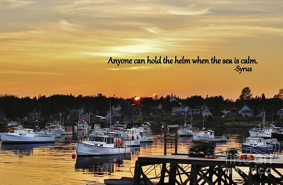 Syrus Photograph - Harbor Inspiration by Karin Pinkham
