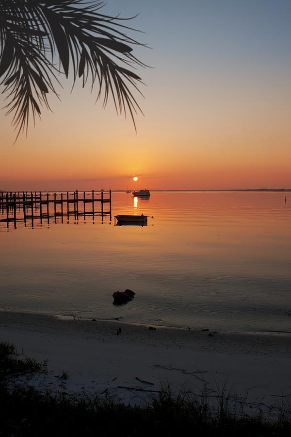 Harbor Photograph - Harbor Sunrise by Regina  Williams