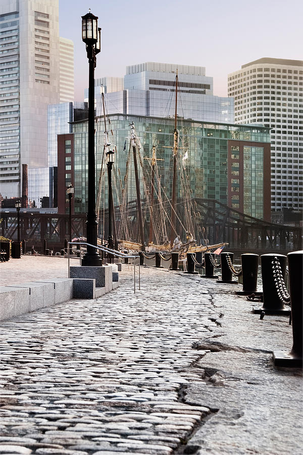 Boston Photograph - Harbor Walk by Jo Ann Snover