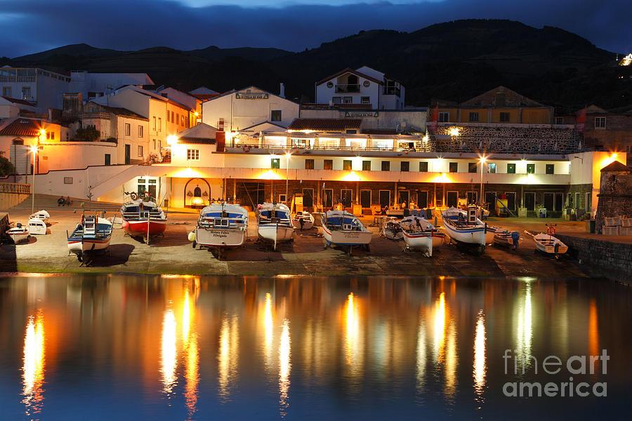 Harbour Photograph - Harbour At Twilight by Gaspar Avila