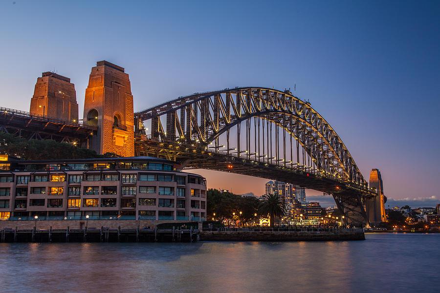 Sydney Harbour Bridge Photograph - Harbour Bridge by Dasmin Niriella