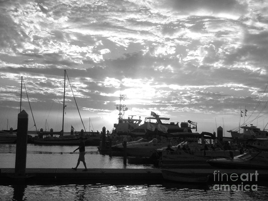 Clouds Photograph - Harbour Clouds by WaLdEmAr BoRrErO