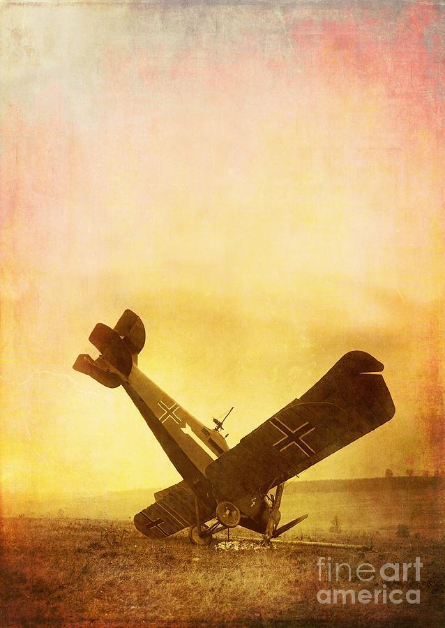Airplane Photograph - Hard Landing by Edward Fielding