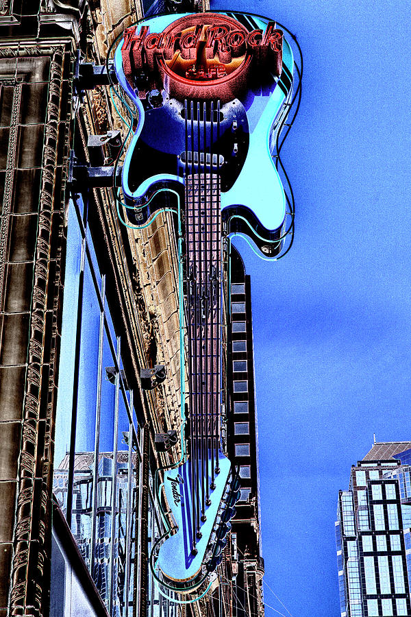 Hard Rock Cafe Photograph - Hard Rock Cafe Seattle by David Patterson