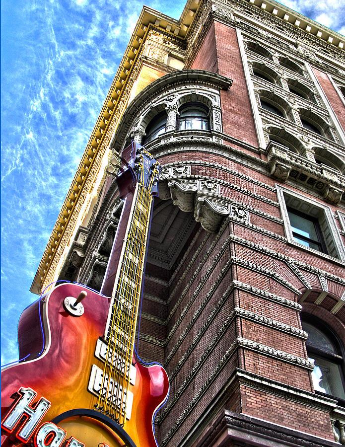 Cities Photograph - Hard Rock Phila by Frank Savarese