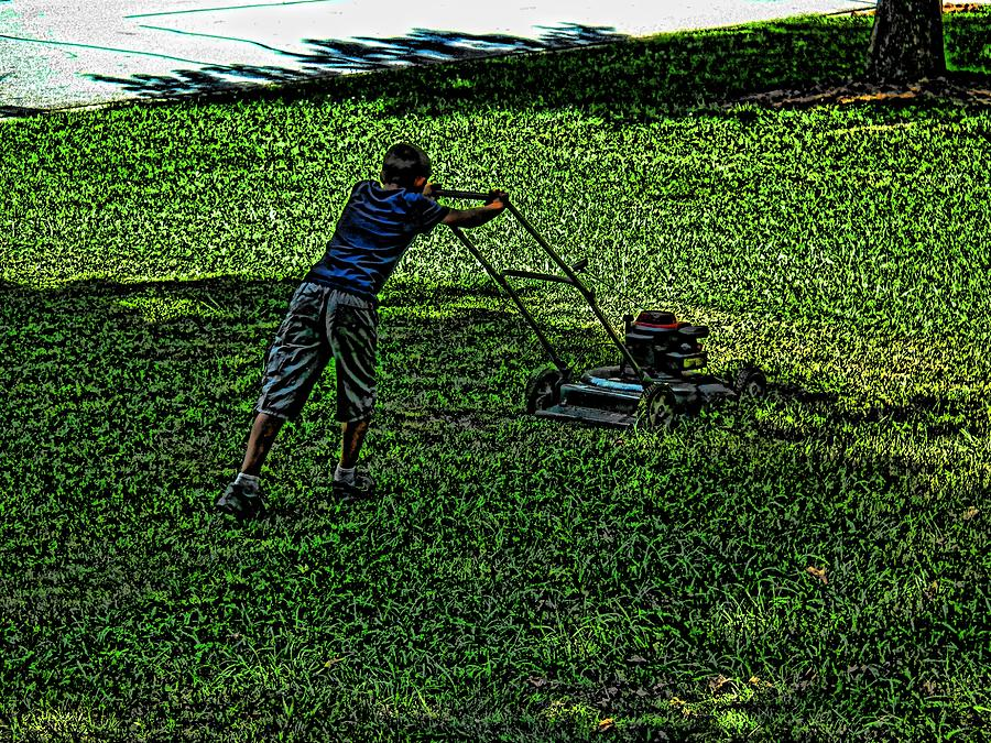 Hard Work Digital Art by Robert Rhoads