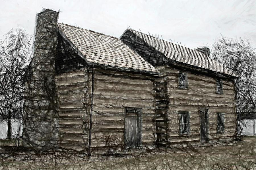 lincoln heritage house 2 elizabethtown ky digital art by