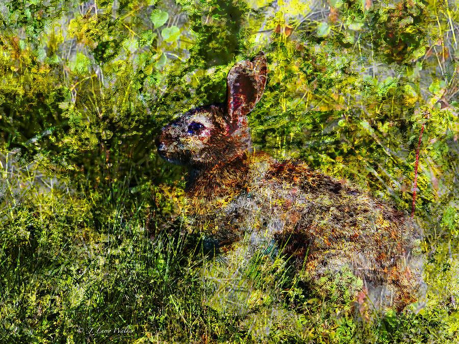 Hare In Hiding by J Larry Walker