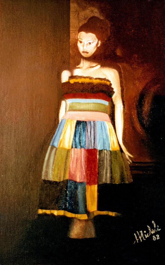 Realism Painting - Harlequeen by Daniele Zambardi