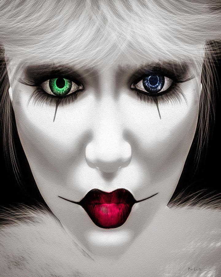 Harlequin Painting - Harlequin by Bob Orsillo