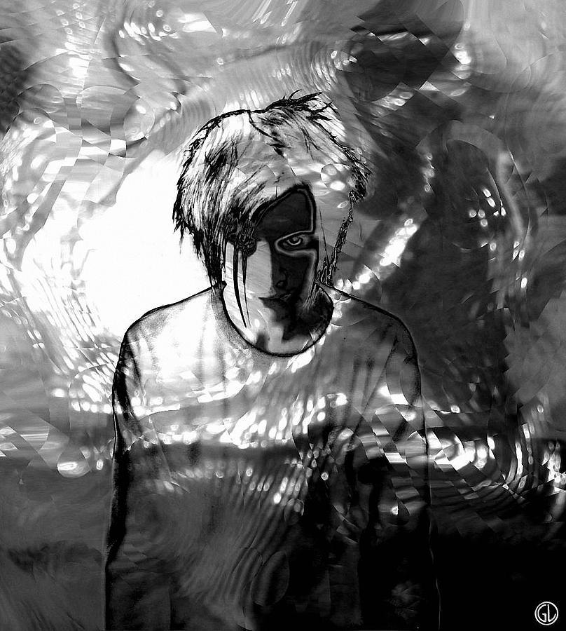 Harlequin Digital Art - Harlequin by Gun Legler