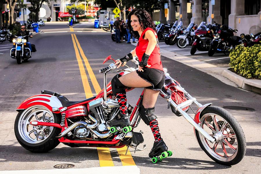 Harley Chic Photograph