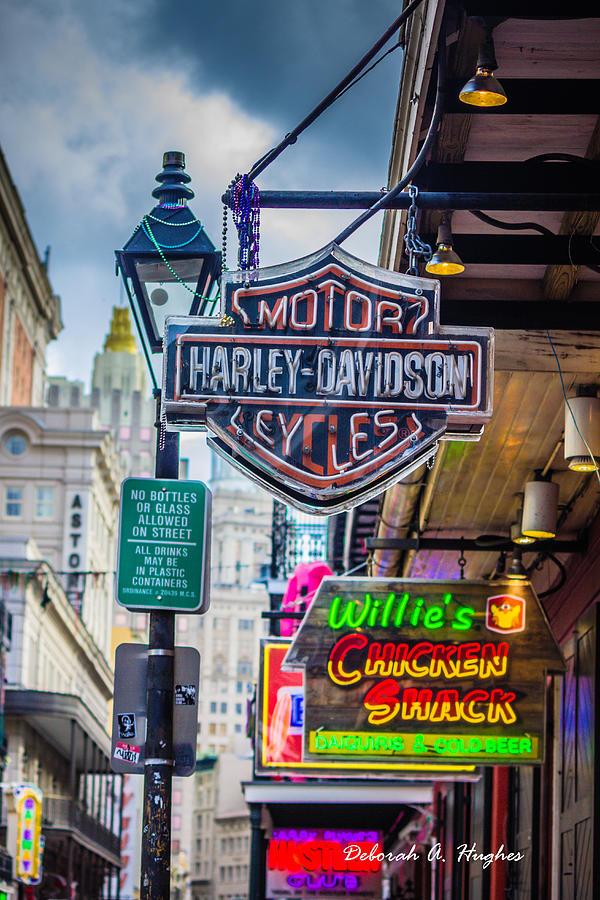 Harley-Davidson by Deborah Hughes