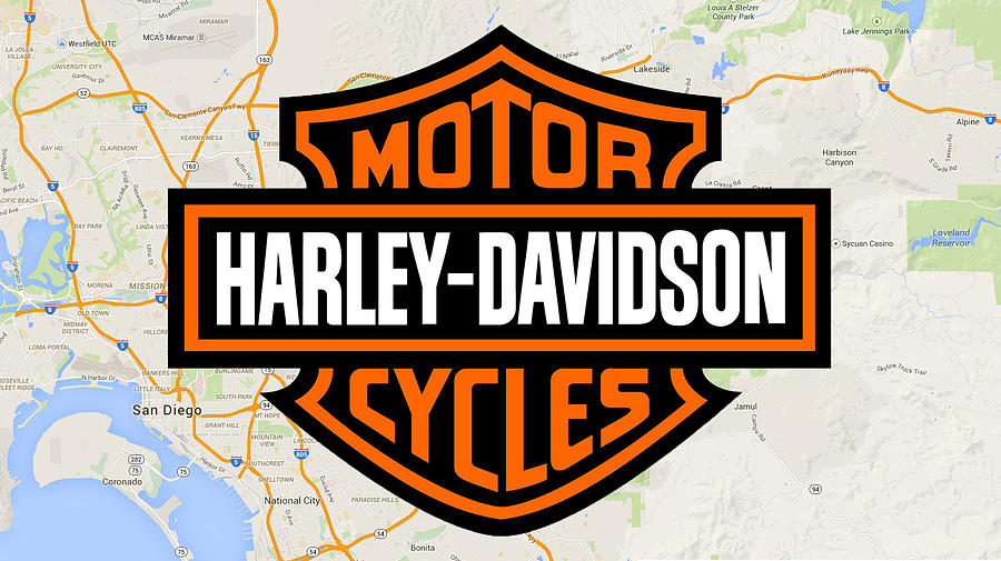 Harley-Davidson by Photographic Art by Russel Ray Photos