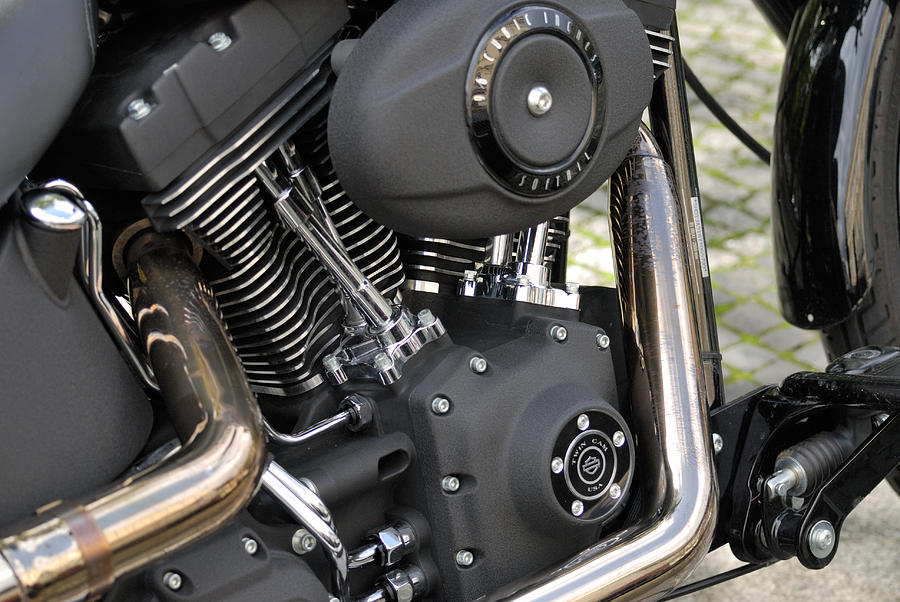 Harley Photograph
