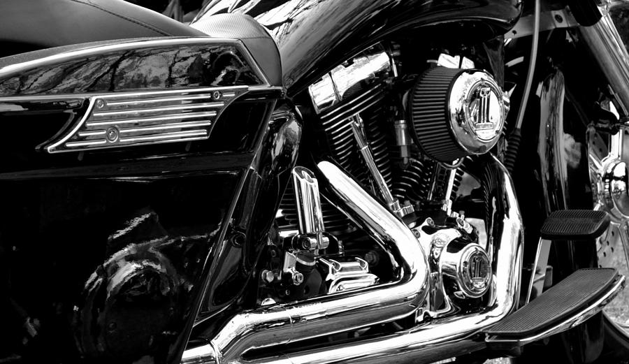Motorcycles Photograph - Harley by Michelle Calkins