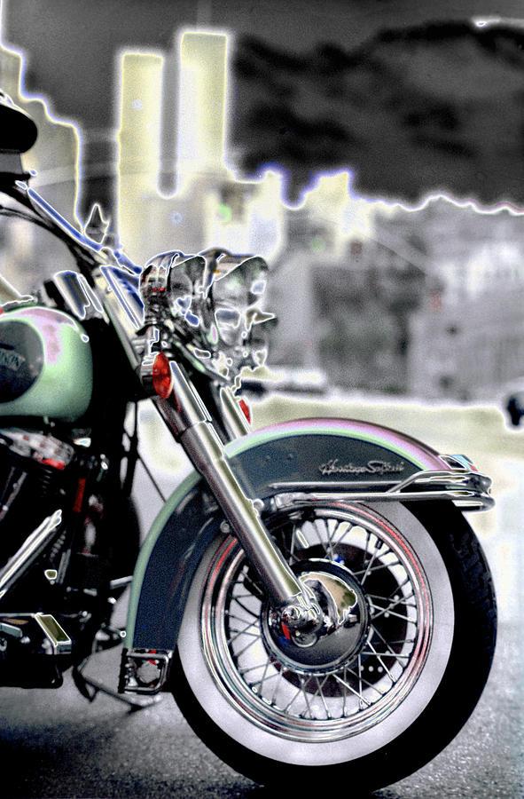 Harley Wtc Photograph by Joseph Hedaya