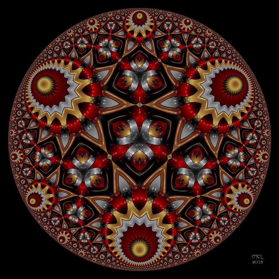 Abstract Digital Art - Harmonia by Manny Lorenzo