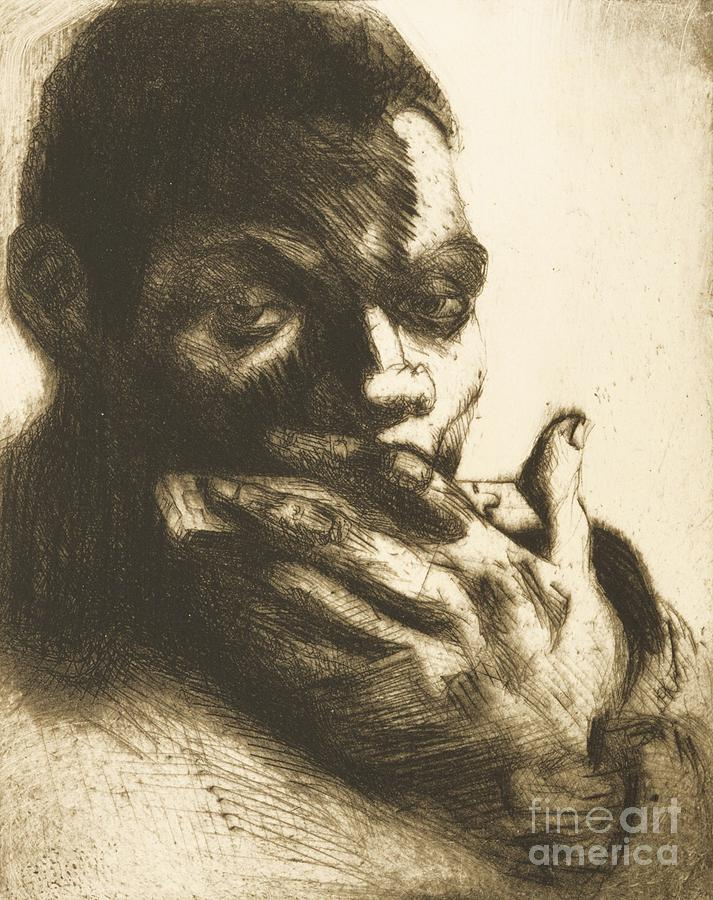Pd Drawing - Harmonica Blues by Pg Reproductions
