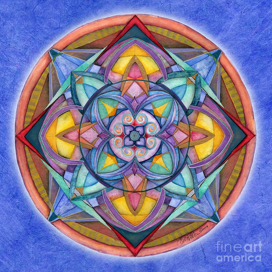 Harmony Mandala by Jo Thomas Blaine